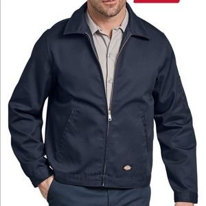 Dickies unlined dark blue work jacket coat large